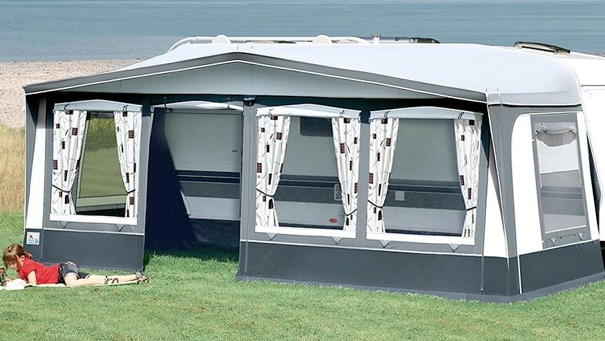 einzugszelt 03 das schutzdach f r wohnwagen wohnmobil. Black Bedroom Furniture Sets. Home Design Ideas