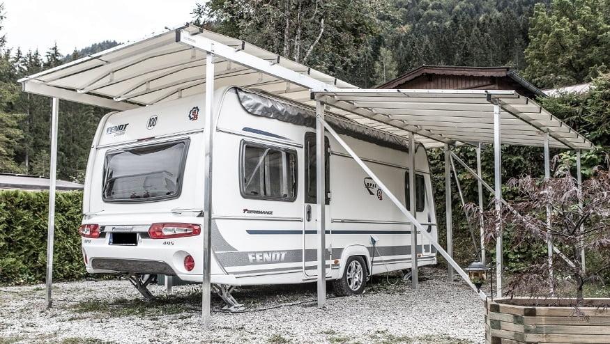 bekannte carport f r wohnwagen hf98 kyushucon. Black Bedroom Furniture Sets. Home Design Ideas